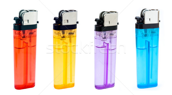 Standing Lighters Bundle Stock photo © eldadcarin