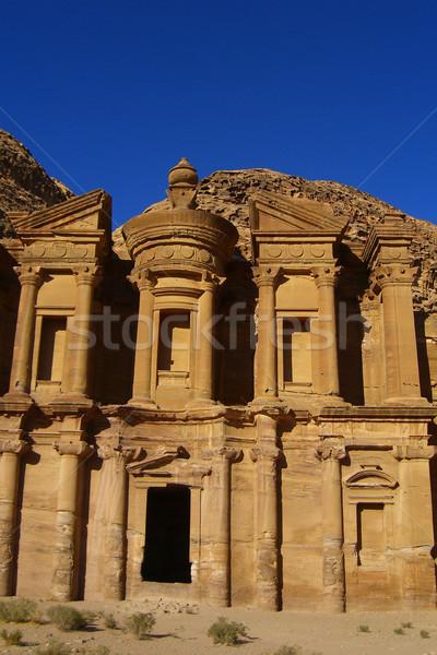 Old Petra in Jordan Stock photo © eldadcarin