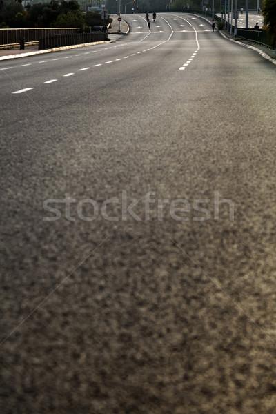 Yom Kippur Empty Road Stock photo © eldadcarin