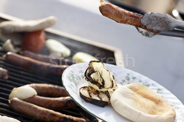 Loading the Plate Stock photo © eldadcarin