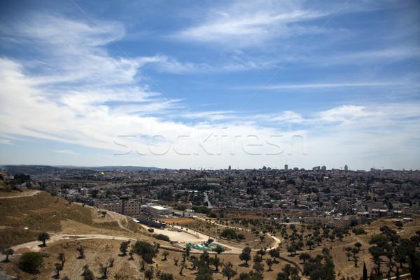 Jerusalem View Stock photo © eldadcarin