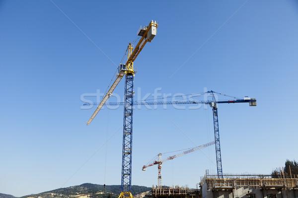 Ver três torre rural Foto stock © eldadcarin