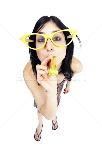 Party Girl Stock photo © eldadcarin