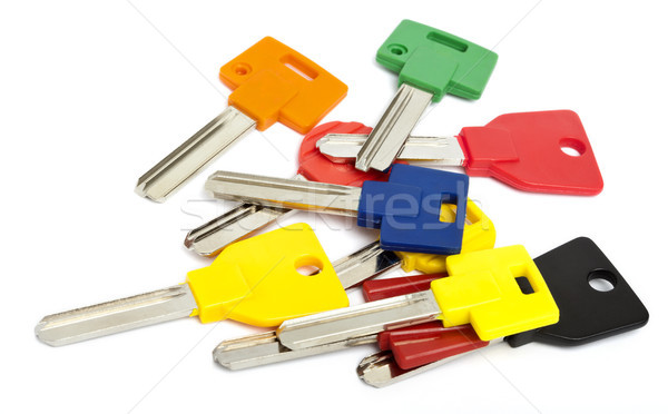Colorful Keys Stock photo © eldadcarin