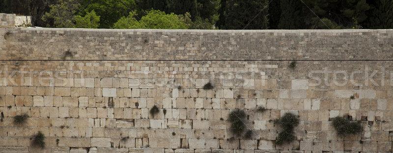 Matin mur ouest une sacré religion Photo stock © eldadcarin