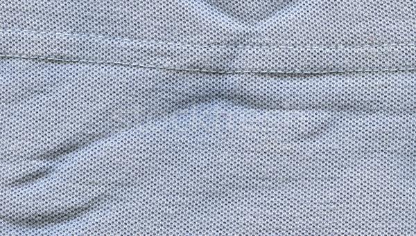 Cotton Fabric Texture - Pastel Blue with Seams Stock photo © eldadcarin