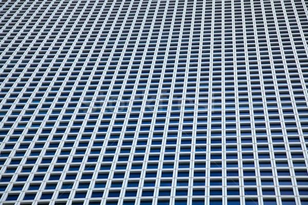 Wieżowiec Windows ilość identyczny placu Zdjęcia stock © eldadcarin
