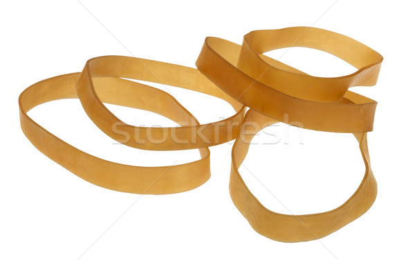 Isolated Rubber Bands Stock photo © eldadcarin