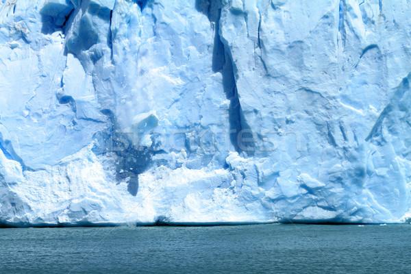 Gelo queda geleira água Foto stock © eldadcarin