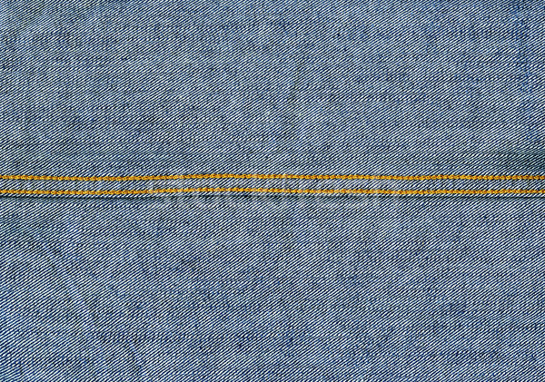 Denim Fabric Texture - Light Blue With Seams Stock photo © eldadcarin