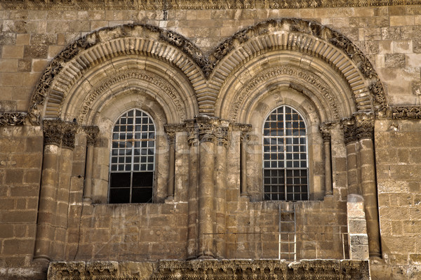 Church of the Holy Sepulchre Facade Stock photo © eldadcarin