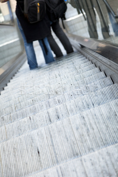 Downwards Escalator Stock photo © eldadcarin