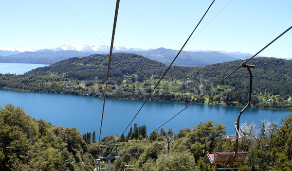 Cable Cart & View Stock photo © eldadcarin