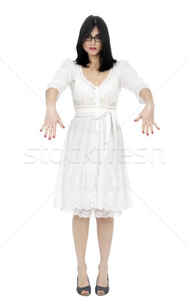 Kadın yetişkin erken 30s siyah kafkas Stok fotoğraf © eldadcarin