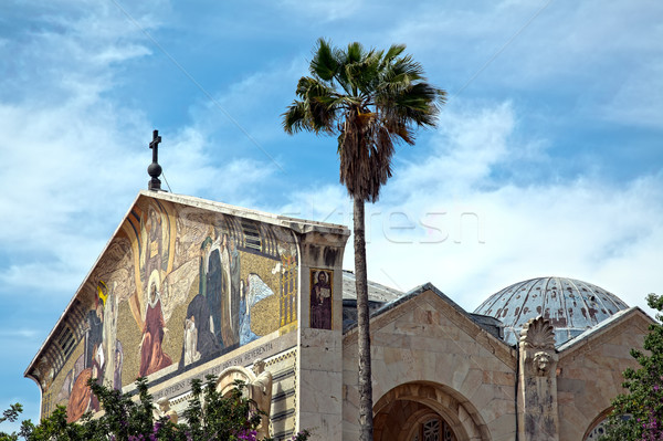 Church of All Nations - Gethsemane Stock photo © eldadcarin