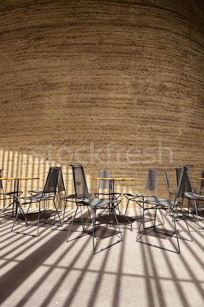 Indoor Sun Lit Sitting Area Architecture Design Stock photo © eldadcarin
