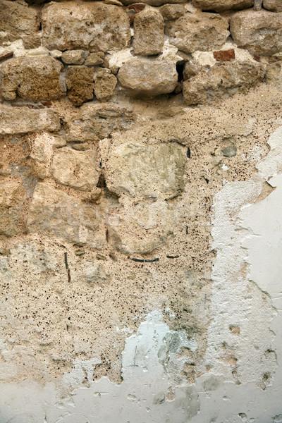 Ancient Stone Wall Stock photo © eldadcarin