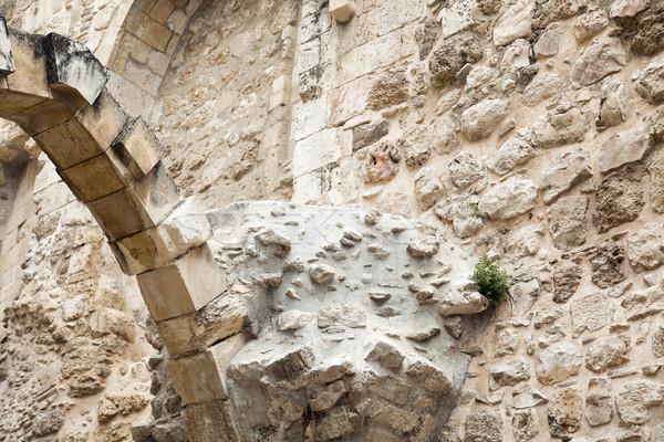 Eski Kudüs ören eski çeyrek Stok fotoğraf © eldadcarin