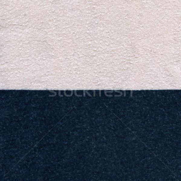 Katoen weefsel textuur pastel roze Blauw Stockfoto © eldadcarin