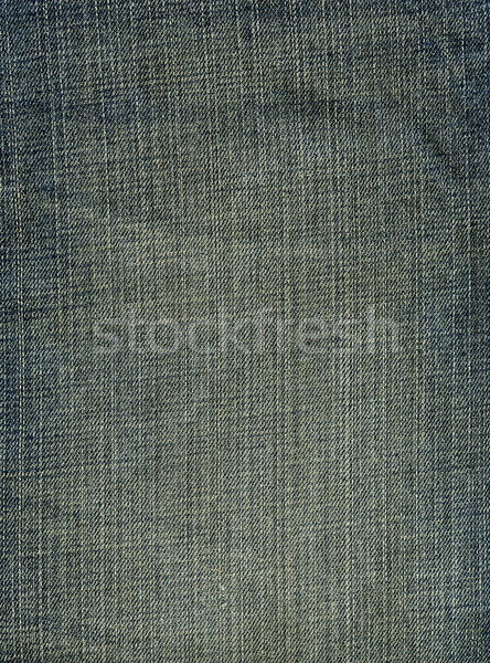 Denim Fabric Texture - Worn Out Stock photo © eldadcarin