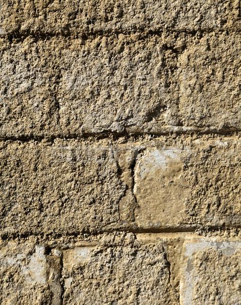 Nierówny murem pokryty szorstki tekstury Zdjęcia stock © eldadcarin