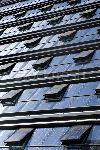Back Lit Curtain Wall Stock photo © eldadcarin