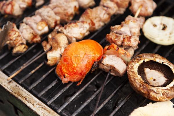 Grillin' Stock photo © eldadcarin