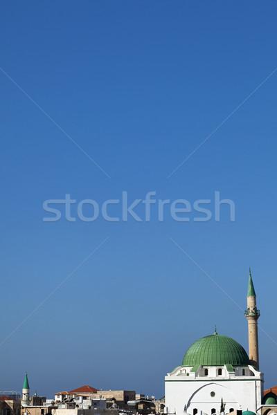 Al-Jazzar Mosque - Acco (Acre) Stock photo © eldadcarin