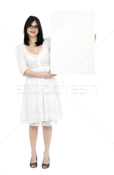 лет платье женщину знак взрослый Сток-фото © eldadcarin
