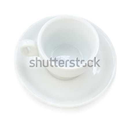 Coffee Cup & Plate Stock photo © eldadcarin
