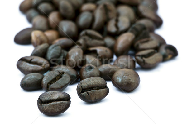 Stock photo: Coffee Beans Cluster