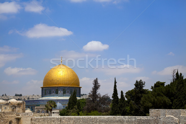 Dome of the Rock Stock photo © eldadcarin