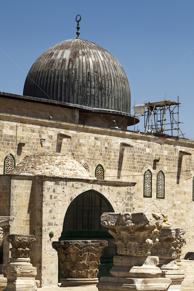 Al-Aqsa Mosque Stock photo © eldadcarin