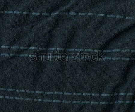 綿 ファブリック テクスチャ 暗い グレー ストックフォト © eldadcarin