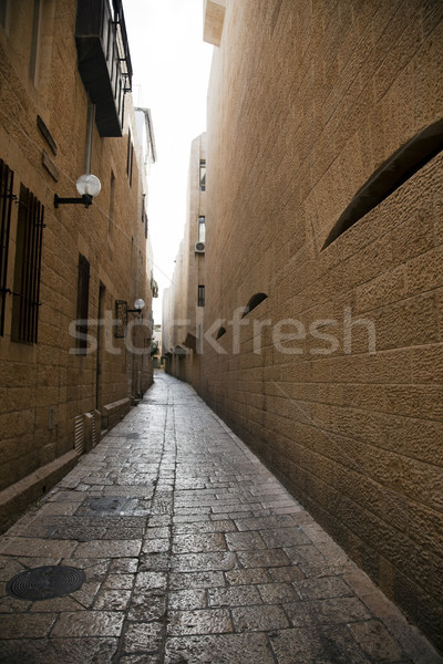 Old Jerualem Alley Stock photo © eldadcarin