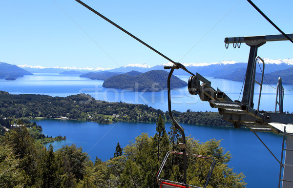 View from the Cable Car Stock photo © eldadcarin