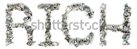 Great - Crimped 100$ Bills Stock photo © eldadcarin