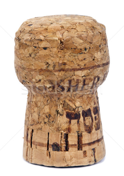 Isolated Kosher Cork Stock photo © eldadcarin