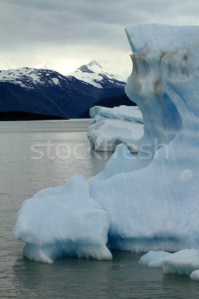 Geleira água natureza mar montanha Foto stock © eldadcarin