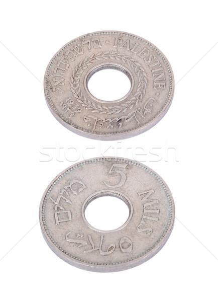 Aislado ambos vintage moneda 1940 Foto stock © eldadcarin