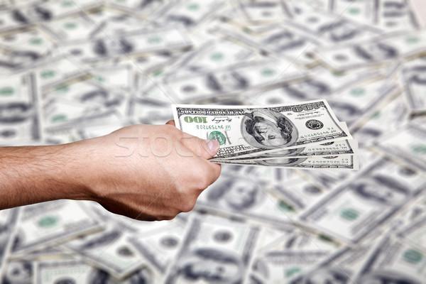 Ceny pieniężnych strony dorosły Zdjęcia stock © eldadcarin