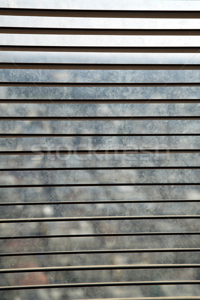 Open Venetian Blinds Stock photo © eldadcarin
