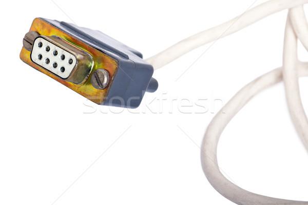 Used COM Cable Stock photo © eldadcarin