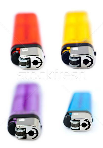 Frontal Lighters Bundle Stock photo © eldadcarin