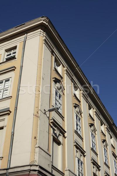 Budapest Corner Building Stock photo © eldadcarin