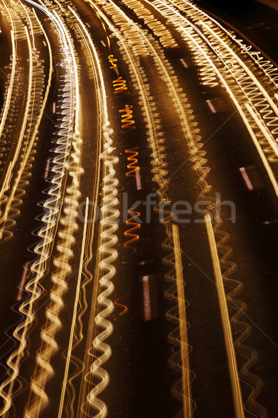 Squiggly Traffic River Stock photo © eldadcarin