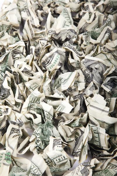 Cash Ansicht groß Betrag 100 Stock foto © eldadcarin