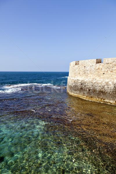 Wall above the Sea Stock photo © eldadcarin