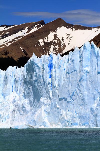 ледник воды озеро Южной Америке небе Сток-фото © eldadcarin