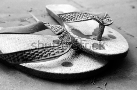Old Flip-Flops Stock photo © eldadcarin